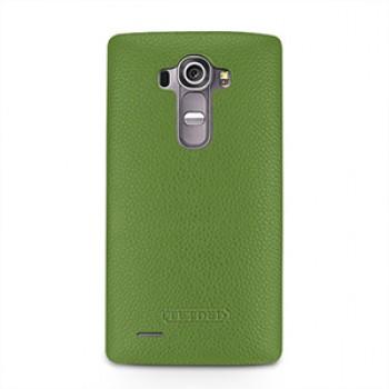 Кожаный чехол накладка (нат. кожа) для LG G4