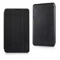 Чехол флип подставка сегментарный для Asus FonePad 8 Черный