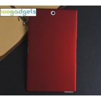 Пластиковый матовый чехол для Sony Xperia Z3 Tablet Compact Красный