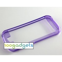 Силиконовый полупрозрачный бампер для Yotaphone 2 Фиолетовый