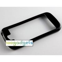 Силиконовый полупрозрачный бампер для Yotaphone 2 Черный