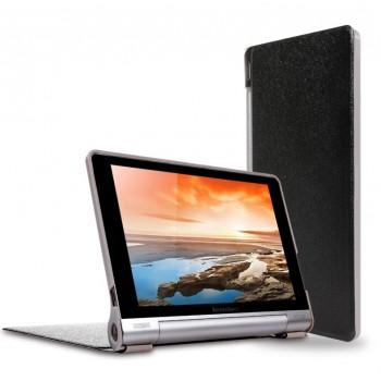 Чехол подставка на поликарбонатной основе текстура Золото для Lenovo Yoga Tablet 10