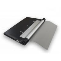 Чехол подставка на поликарбонатной основе с вощеным покрытием для Lenovo Yoga Tablet