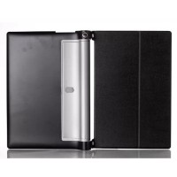 Кожаный чехол подставка для Lenovo Yoga Tablet 2 8 Черный