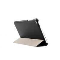 Чехол флип подставка сегментарный для Lenovo IdeaTab A5500 Черный