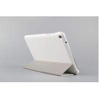 Чехол флип подставка сегментарный для Lenovo IdeaTab A5500 Белый