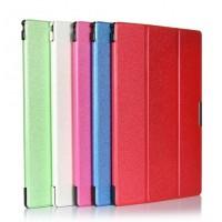 Текстурный чехол флип подставка сегментарный для Sony Xperia Z2 Tablet