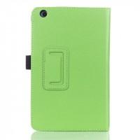 Чехол подставка с рамочной защитой для Lenovo IdeaTab A5500 Зеленый