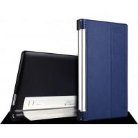Кожаный чехол подставка для Lenovo Yoga Tablet 2 10 Синий