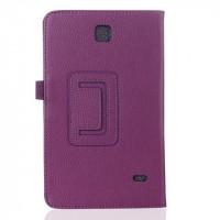 Чехол подставка серия Full Cover для Samsung Galaxy Tab 4 8.0 Фиолетовый