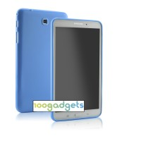 Силиконовый матовый полупрозрачный чехол для Samsung GALAXY Tab 4 8.0
