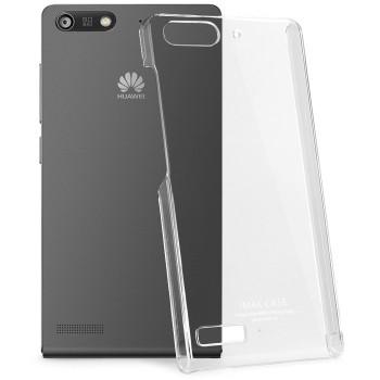 Пластиковый транспарентный олеофобный премиум чехол для Huawei Ascend G6