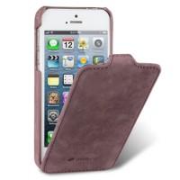 Кожаный чехол вертикальная книжка для Iphone 5s/SE