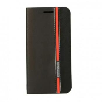 Дизайнерский чехол портмоне с тканевым покрытием подставка на силиконовой основе с внутренним карманом для Asus Zenfone Laser 5.5 ZE550KL