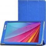 Сегментарный чехол книжка подставка с рамочной защитой экрана текстура Золото для Huawei MediaPad T2 10.0 Pro