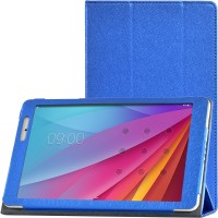Сегментарный чехол книжка подставка с рамочной защитой экрана текстура Золото для Huawei MediaPad T2 10.0 Pro Синий