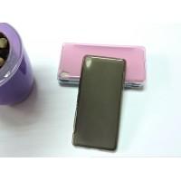 Силиконовый матовый полупрозрачный чехол для Sony Xperia XA Черный
