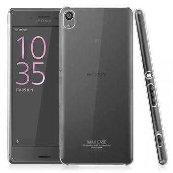 Пластиковый транспарентный чехол для Sony Xperia XA