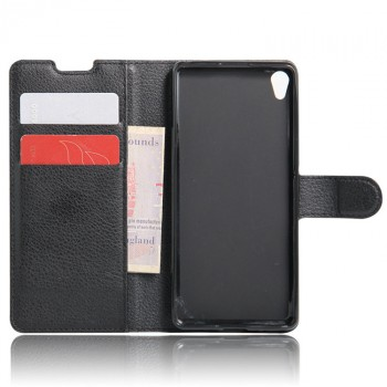 Чехол портмоне подставка на силиконовой основе на магнитной защелке для Sony Xperia XA