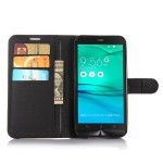 Чехол портмоне подставка на силиконовой основе на магнитной застежке для ASUS Zenfone Go 5.5/Go TV