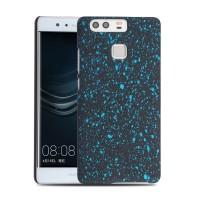 Пластиковый непрозрачный матовый чехол с голографическим принтом Звезды для Huawei P9