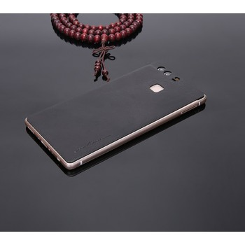 Экстратонкая клеевая кожаная накладка для Huawei P9