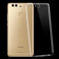 Силиконовый матовый транспарентный чехол для Huawei P9