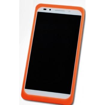 Силиконовый матовый непрозрачный чехол с нескользящими гранями и нескользящим софт-тач покрытием для Huawei P9