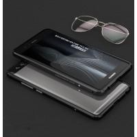 Металлический бампер сборного типа на винтах для Huawei P9 Черный