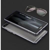 Металлический бампер сборного типа на винтах для Huawei P9 Серый