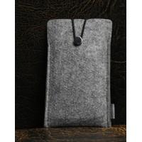 Войлочный мешок с отсеком для карт для Huawei P9 Серый