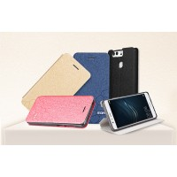 Чехол горизонтальная книжка подставка текстура Узоры на силиконовой основе для Huawei P9