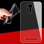 Силиконовый матовый транспарентный чехол для ASUS ZenFone Go 4.5 ZB452KG