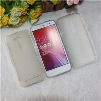 Силиконовый матовый полупрозрачный чехол для ASUS ZenFone Go 4.5 ZB452KG Белый