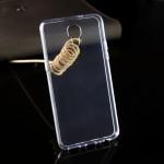 Силиконовый матовый транспарентный чехол для LG X view