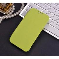 Чехол горизонтальная книжка на пластиковой основе для Samsung Galaxy J1 (2016)  Зеленый