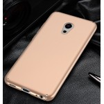 Пластиковый непрозрачный матовый чехол с улучшенной защитой элементов корпуса для Meizu Pro 6