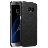 Кожаный чехол накладка для Samsung Galaxy S7