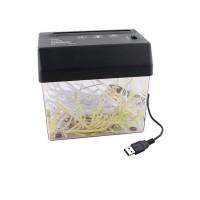 Портативный USB-шредер для бумаги шириной до 12 см толщиной до 3 мм