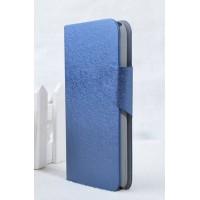 Чехол горизонтальная книжка подставка на пластиковой основе с отсеком для карт на магнитной защелке для Samsung Galaxy Core 2