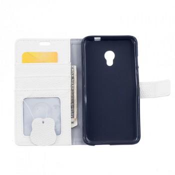 Кожаный чехол портмоне подставка на силиконовой основе на магнитной защелке для Alcatel Pixi 4 (5) 4G 5045d 5045x