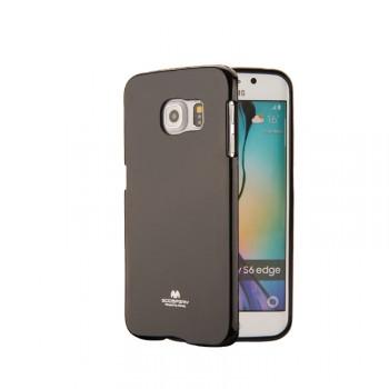 Силиконовый непрозрачный чехол для Samsung Galaxy S6 Edge