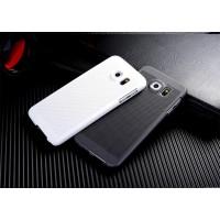Пластиковый непрозрачный матовый чехол с текстурным покрытием Точки для Samsung Galaxy S7