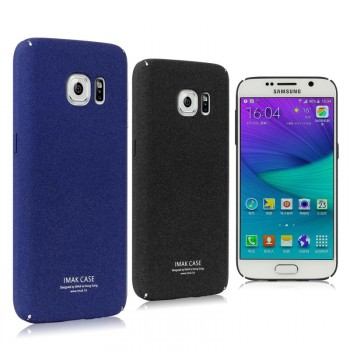 Пластиковый непрозрачный матовый чехол с повышенной шероховатостью для Samsung Galaxy S7