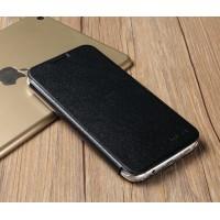 Чехол горизонтальная книжка подставка текстура Металлик на пластиковой основе для Samsung Galaxy S7 Edge