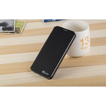 Чехол горизонтальная книжка подставка на пластиковой основе для Samsung Galaxy S7 Edge