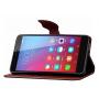 Чехол портмоне подставка на силиконовой основе на дизайнерской магнитной защелке для Huawei Honor 5X