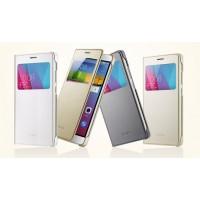 Оригинальный кожаный чехол горизонтальная книжка на пластиковой основе с окном вызова для Huawei Honor 5X