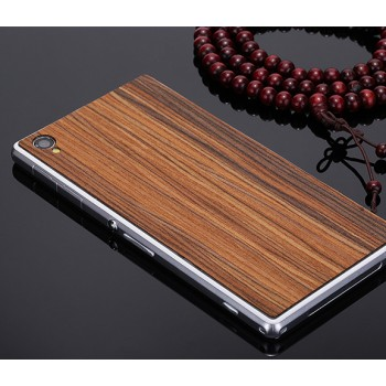 Экстратонкая клеевая натуральная деревянная накладка для Sony Xperia Z1