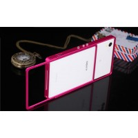Металлический прямоугольный бампер сборного типа для Sony Xperia Z1
